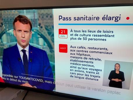 Macron : résumé de son allocution
