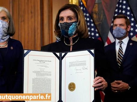 Impeachment de Donald Trump : L'acte d'accusation sera transmis lundi au Sénat