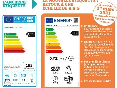 Electroménager : nouveau classement dès le 1er mars pour trier les appareils