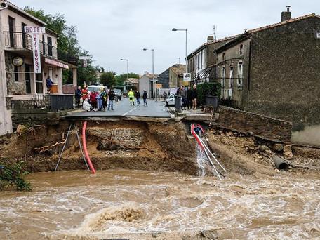 Les inondations de juillet en Allemagne et en Belgique sont bien liées au réchauffement climatique