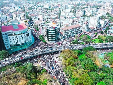 Birmanie : nouvelle journée de manifestations contre le coup d'Etat