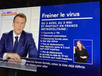 Toute la France est maintenant en confinement depuis ce samedi 19h