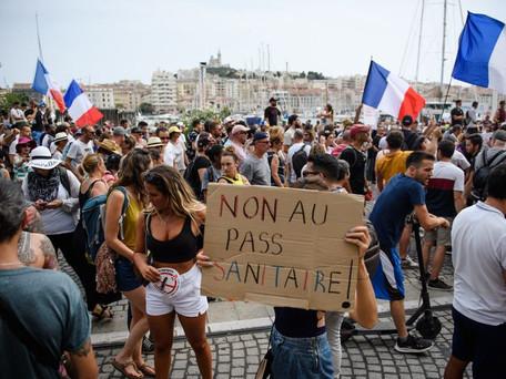Pass sanitaire : des manifestations attendues en France pour ce samedi 31 juillet