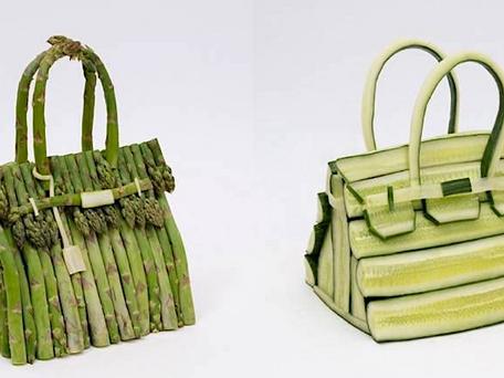 Hermès : des sacs en légumes