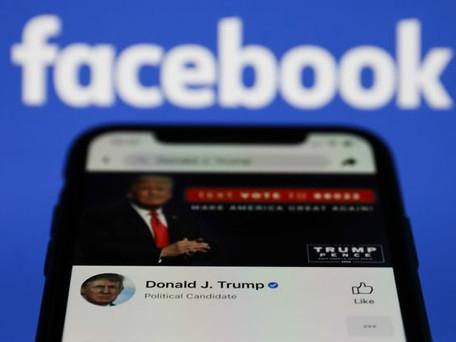 Facebook : le compte de Donald Trump est suspendu pour deux ans