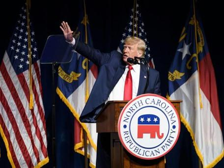 Trump: de retour sur le devant de la scène laisse le suspens sur une nouvelle candidature en 2024