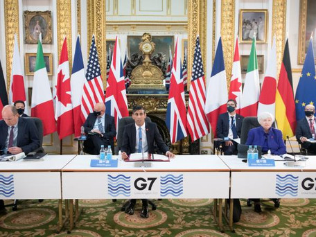 Vaccins Covid-19: le G7 va distribuer un milliard de doses