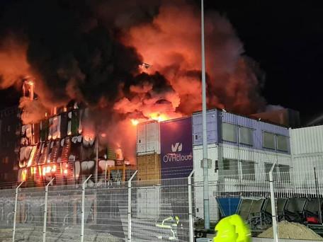 Incendie chez OVH: le datacenter de Strasbourg a brulé, des centaines de sites internet en panne