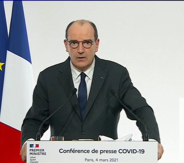 Synthèse de la conférence de presse de Jean Castex et Olivier Veran du 4 mars 2021