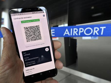Le pass sanitaire européen est disponible pour voyager