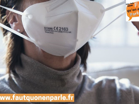 """Variants du coronavirus : """"Le masque artisanal n'offre pas nécessairement les garanties nécessaires"""""""