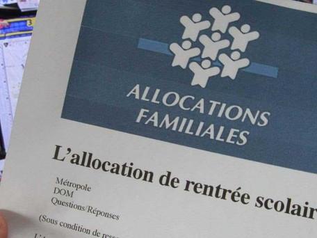 La CAF verse ce mardi l'allocation de rentrée scolaire aux familles les plus modestes
