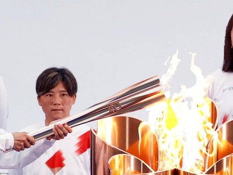 JO Tokyo : le relais de la flamme olympique démarre dans un contexte particulier sans spectateurs