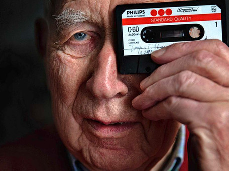 Décès de Lou Ottens, le père de la cassette (K7) audio