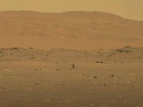 Vol réussi pour l'hélicoptère Ingenuity sur Mars, une première pour l'humanité sur une autre planète