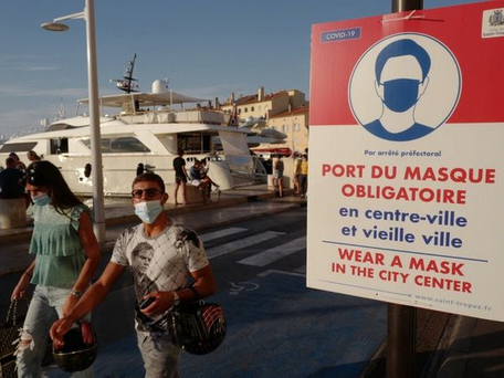 Port du masque : de retour dans le Var