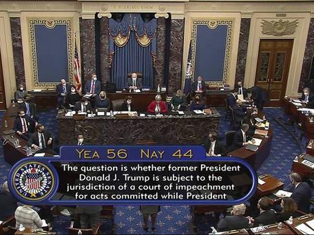 Première journée du procès pour la destitution de Donald Trump