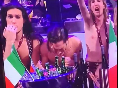 Eurovision: les vainqueurs italiens soupçonnée d'avoir pris de la cocaïne pendant la finale