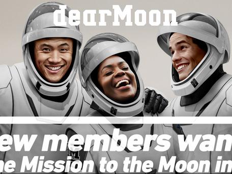 Un milliardaire japonais offre 8 sièges un voyage autour de la Lune ! Inscription avant le 14 mars