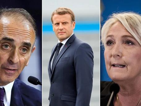 Présidentielle 2022: Macron et Le Pen en tête, Zemmour à 11%, selon un sondage
