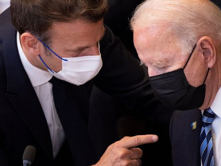 Crise des sous-marins : Macron joue l'apaisement avec Biden