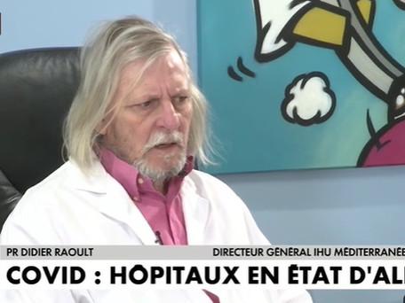 Covid-19 : selon Didier Raoult, les variants, « c'est une autre épidémie »