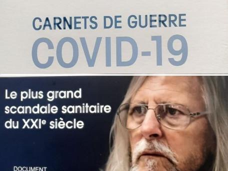 """Sortie d'un livre de Didier Raoult """"Carnet de Guerre"""" avec la contribution de Yanis Roussel"""