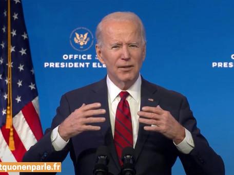 Joe Biden promet une série de décrets dès son investiture mercredi, Washington en état d'alerte