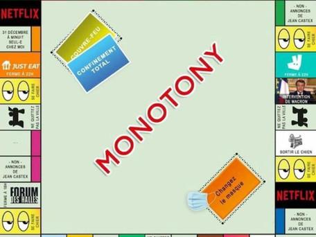 Monotony : le nouveau jeu qui fait sensation sur les réseaux sociaux