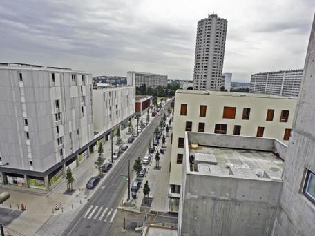 Scènes de violences urbaines hier soir vers 18 heures, à La Duchère à Lyon