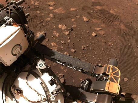 Espace : Le rover Perseverance sur Mars a parcouru ses premiers mètres