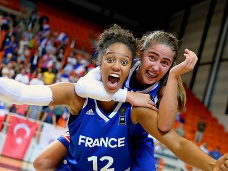Basket : Equipe de France féminine Fauthoux et Rupert draftées en WNBA première dans l'histoire