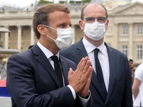 Exécutif: la cote de popularité de Jean Castex et celle d'Emmanuel Macron en forte hausse