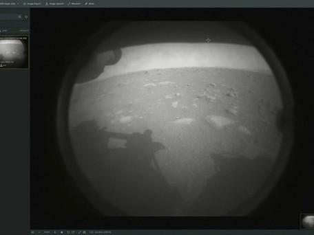 Le rover Perseverance a atterri sur Mars - Premières images