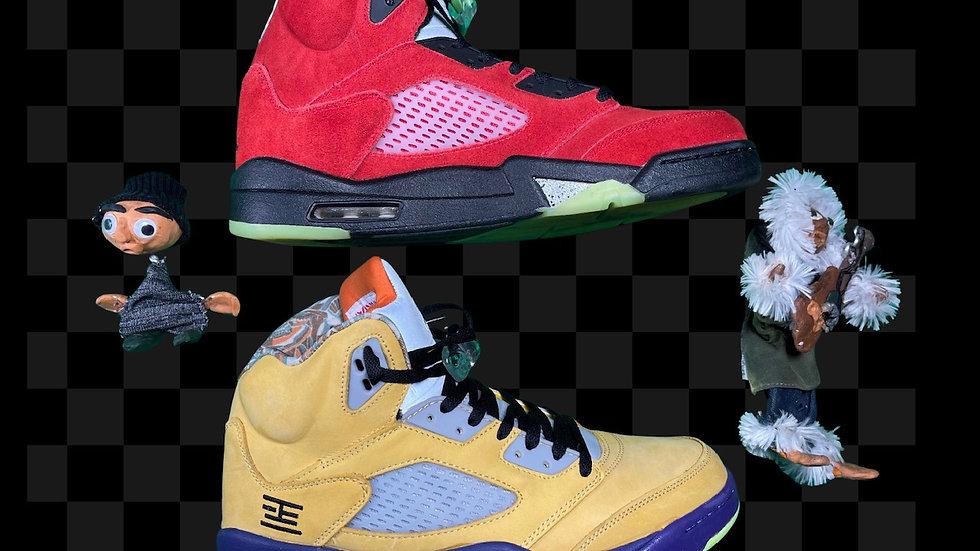 AIR JORDAN 5 RETRO SE 'WHAT THE'      Size 12
