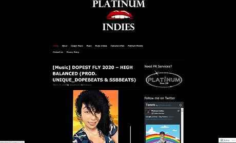 Unique_DopeBeats - Platinum Indies