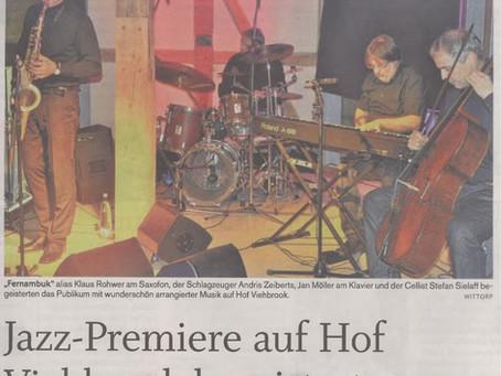 Brasilianischer Jazz im norddeutschen Fachwerk