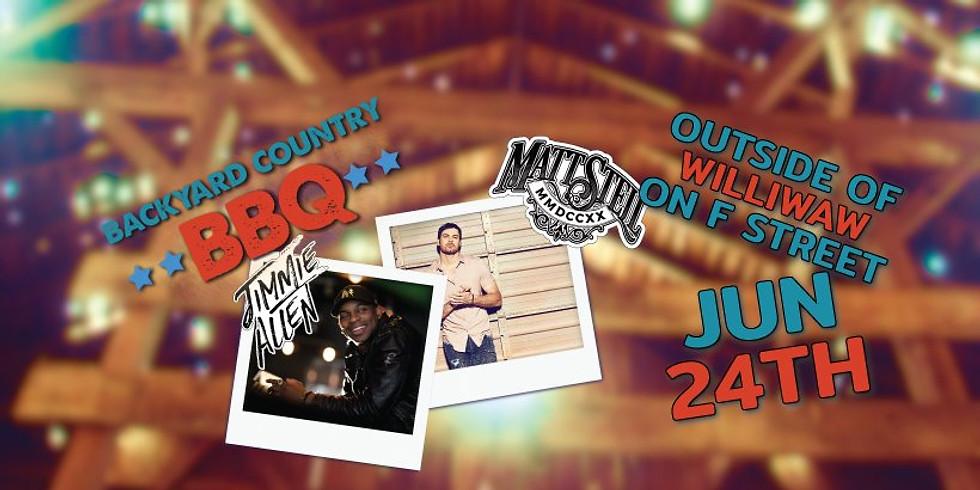 The Backyard Country BBQ #8 - Jimmie Allen, Matt Stell & Friends (1)