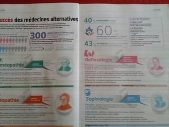 Le succès des médecines alternatives