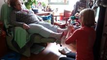 La réflexologie en maison de retraite et en EHPAD