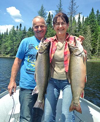 pêche truite doré