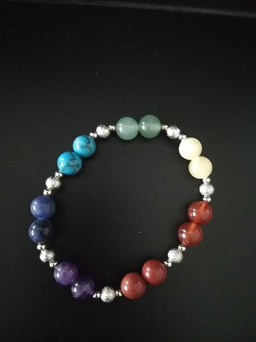 Nouveauté Bracelet 7 chakras