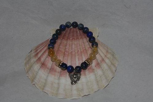 Quartz rutile & Lapis Lazulis