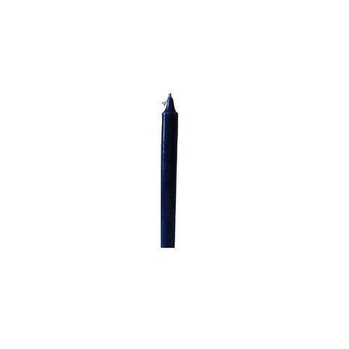 Bougie teintée dans la masse Bleu Nuit