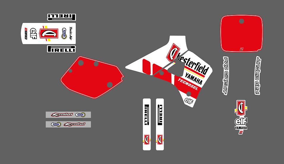 KIT DÉCO - Team Yamaha Chesterfield