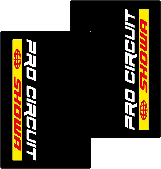 Stickers Fourches - PRO CIRCUIT