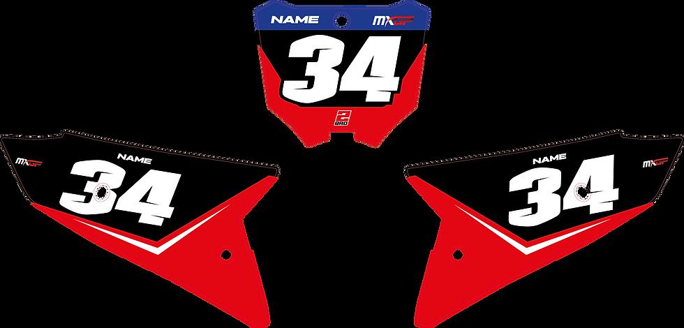 """FONDS DE PLAQUES - SEMI PERSO """"RACE 21"""""""