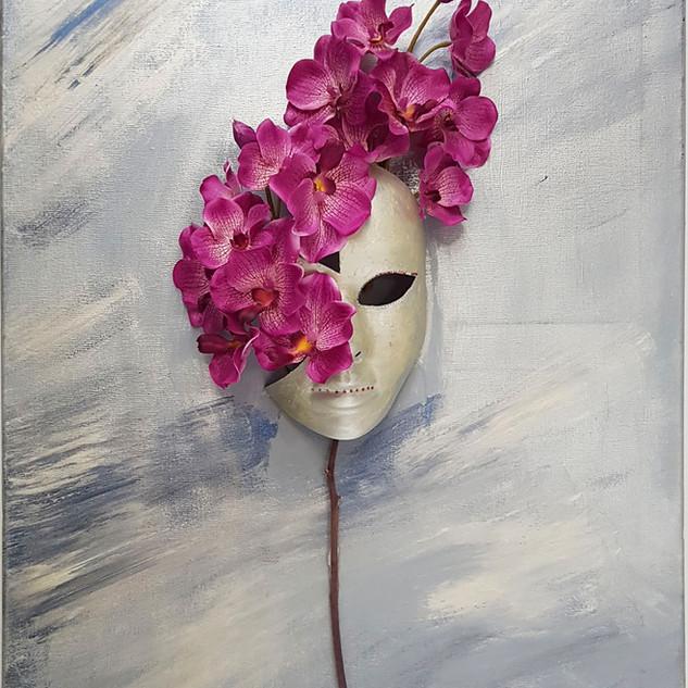 Маска орхидея