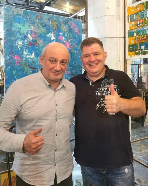 Борис Гугосьян с гостями