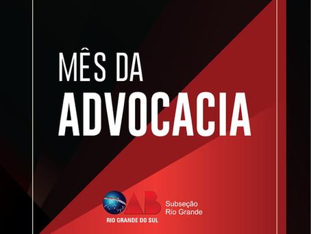 Subseção Rio Grande realiza Mês da Advocacia On-line